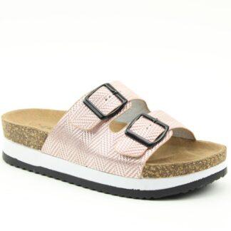 Lime Shoe Co-Berwick upon Tweed-Heavenly Feet-Kendra-Pink-Sandal-Buckle-Comfort-Spring-Summer-2021