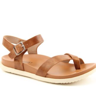 Lime Shoe Co-Berwick upon Tweed-Heavenly Feet-River-Tan-Vegan-Sandal-Spring-Summer-2021-Ladies-Comfort-Flat