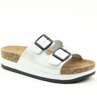 Lime Shoe Co-Berwick upon Tweed-Heavenly Feet-Kendra-Silver-Sandal-Buckle-Comfort-Spring-Summer-2021