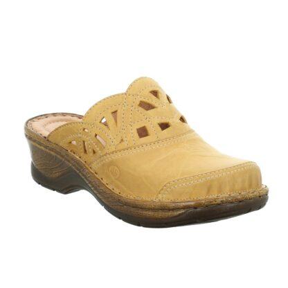 Berwick upon Tweed-Lime Shoe Co-Josef Seibel-Yellow-Clog-Catalonia 41-comfort-summer