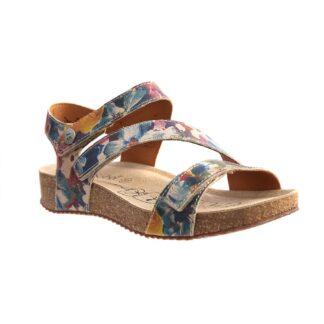 Berwick upon Tweed-Lime Shoe Co-Josef Seibel-Floral-Sandal-Velcro-Tonga 25-summer-comfort