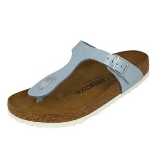 Lime Shoe Co-Berwick upon Tweed-Birkenstock-Gizeh-Blue-Flat-Slip On-Ladies-Sandal-Buckle-Toe Post
