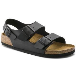 Lime Shoe Co-Berwick upon Tweed-Birkenstock-Milano-Flat-Comfort-Ladies-Ankle Strap-Buckle