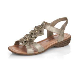 Berwick upon Tweed-Lime Shoe Co-Remonte-Bronze-sandal-R3659