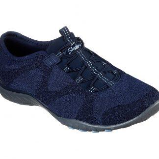 Berwick upon Tweed-Lime Shoe Co-Skechers-Navy-23855-comfort-bungee laces-autumn-winter