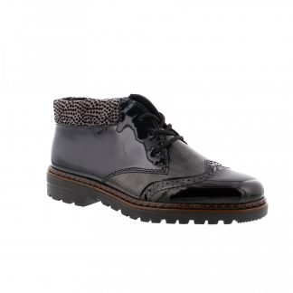Berwick upon Tweed-Lime Shoe Co-Rieker-Black-Ankle Boots-winter-autumn-patent-comfort