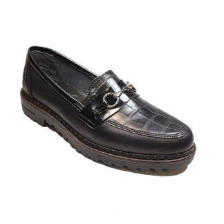 Berwick upon Tweed-Lime Shoe Co-Rieker-Black-Shoe-winter-work-comfort-autumn