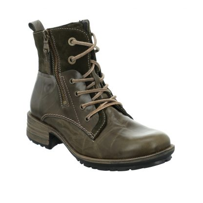Berwick upon Tweed-Lime Shoe Co-Josef Seibel-Sandra 91-Green-Ankle Boot-Winter-comfort