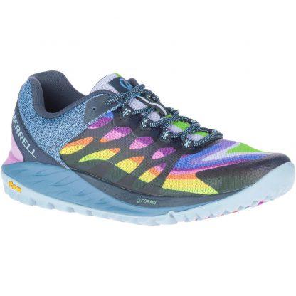 Berwick upon Tweed-Lime Shoe Co-Merrell-J135430-Antora 2-Ladies-Bungee Laces-Rainbow-comfort