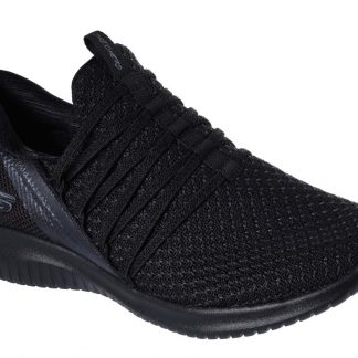 Berwick upon Tweed-Lime Shoe Co-Skechers-Black-Ultra Flex-12849-black