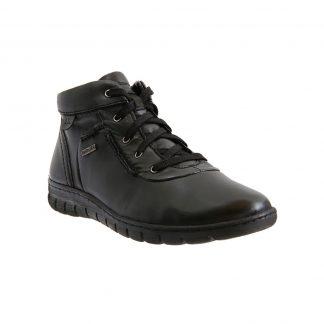 Berwick upon Tweed-Lime Shoe Co-Josef Seibel-Steffi 53-Black-Tex-Ankle Boot-Winter-comfort