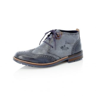 Berwick upon Tweed-Lime Shoe Co-Rieker-Gents-mens-blue-lace up-Ankle Boot-comfort-autumn-winter
