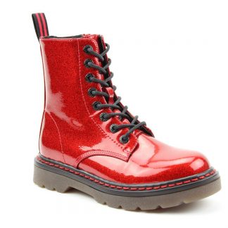 Berwick upon Tweed-Lime Shoe Co-Heavenly Feet-Justina,Red-Laces-Zip-comfort-autumn-winter-vegan