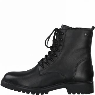 Lime Shoe Co-Berwick upon Tweed-Tamaris-25234-Black-Ankle Boot-Autumn-Winter-2021-Flat Comfort-Side Zip