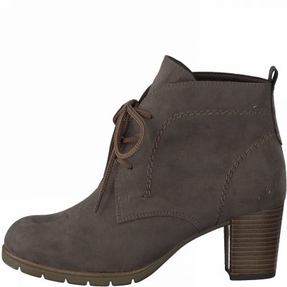 Lime Shoe Co-Berwick upon Tweed-Marco Tozzi-25017-Ladies-Ankle Boot-Heel-Lace Up-Autumn-Winter-2021