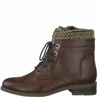 Lime Shoe Co-Berwick upon Tweed-Marco Tozzi-Brown-Chestnut-Ankle Boot-Autumn-Winter-2021