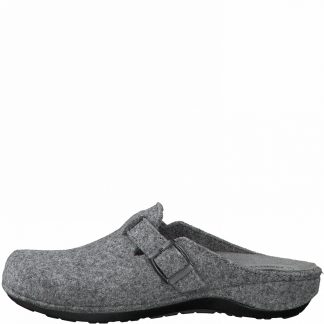 Berwick upon Tweed-Lime Shoe Co-Marco Tozzi-Mules-Slippers-wool-comfort-autumn-winter