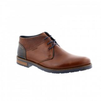 Lime Shoe Co-Berwick upon Tweed-Rieker-Leather-Brown-Gents-Boot-Autumn-Winter-2021-Lace Up-Comfort