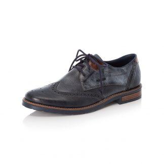 Lime Shoe Co-Berwick upon Tweed-Rieker-Gents-Men's-Blue-Shoe-Lace Up-Autumn-Winter-2021