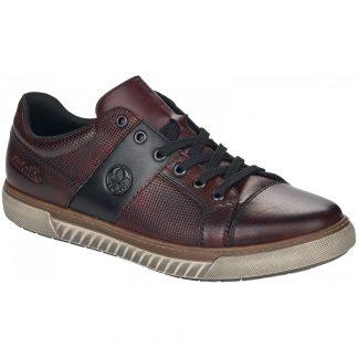 Lime Shoe Co-Berwick upon Tweed-Rieker-Red-Trainer-Gents-Men's-Comfort-Flat-Autumn-Winter-2021