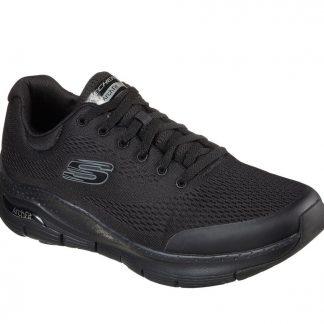 Lime Shoe Co-Berwick upon Tweed-Skechers-Arch Fit-Men's-Black-Comfort-Support-Winter-Autumn-2021
