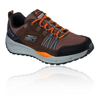 Lime Shoe Co-Berwick upon Tweed-Skechers-237023-Brown-Hiking-Trainer-Lace Up-Autumn-Winter-2021-Comfort-Support