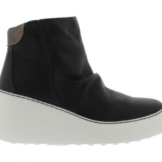 Berwick upon Tweed-Lime Shoe Co-Fly London-Black-DABE-Brito-Side Zip-Wedge-Autumn-Winter-comfort