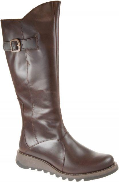 Berwick upon Tweed-Lime Shoe Co-Fly London-MOL2-Brown-Side zip-autumn-winter-comfort