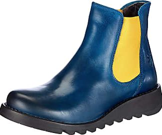 Berwick upon Tweed-Lime Shoe Co-Fly London-Salv-Blue-Mustard-Chelsea Boot-comfort-autumn-winter