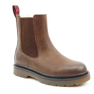 Lime Shoe Co-Berwick upon Tweed-Heavenly Feet-Saint-Chocolate-Chelsea Boot-Autumn-Winter-2021-Pull Tab-Vegan-Brown