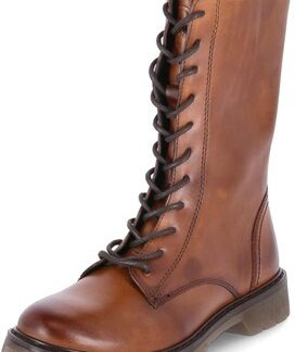 Berwick upon Tweed-Lime Shoe Co-Bugatti shoes-Cognac-brown-leather-laces-side zip-warm-winter