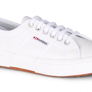 Berwick upon Tweed-Lime Shoe Co-Superga-White-leather-gents-laces-comfort