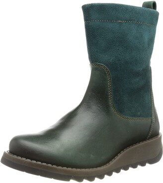 Berwick upon Tweed-Lime Shoe Co-Fly London-Petrol-Leather-Suede-SAUK-Ankle Boot-Autumn-Winter-comfort