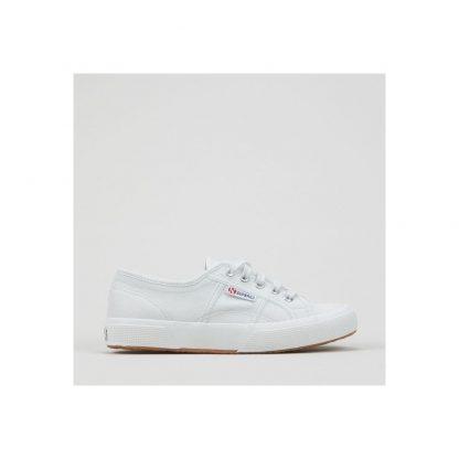 Berwick upon Tweed-Lime Shoe co-Superga-ice white-trainer-comfort-laces