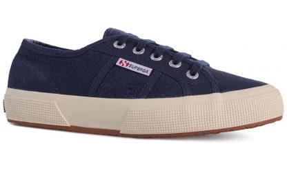 Berwick upon Tweed-Lime Shoe Co-Superga-Navy-Laces-comfort