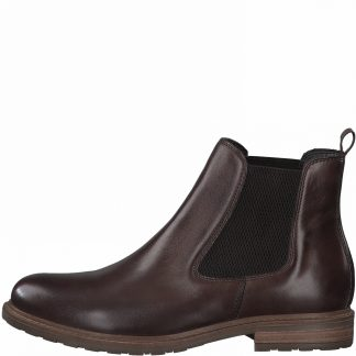 Berwick upon Tweed-Lime Shoe Co-Tamaris-25056-muscat-brown-chelsea boots-ankle boots-comfort-autumn-winter