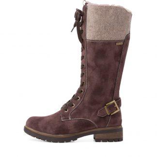 Lime Shoe Co-Berwick upon Tweed-Tamaris-Duo Tex-Knee Boot-26249-Autumn-Winter-2021-comfort-Flat-Waterproof