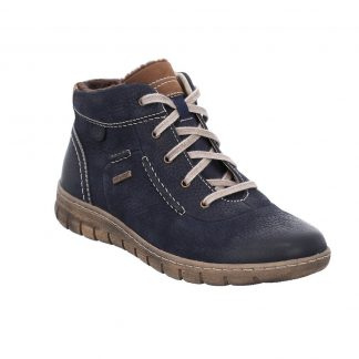 Berwick upon Tweed-Lime Shoe Co-Josef Seibel-Steffi 53-Blue-Ocean-waterproof-winter