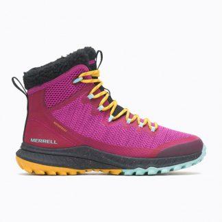 Berwick upon Tweed-Lime Shoe Co-Merrell-J003124-Pink-Winter-Autumn-Boots-warm