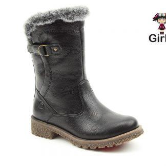 Berwick upon Tweed-Lime Shoe Co-Heavenly Feet-Black-Girls-Kids-Black-Boots-winter-vegan
