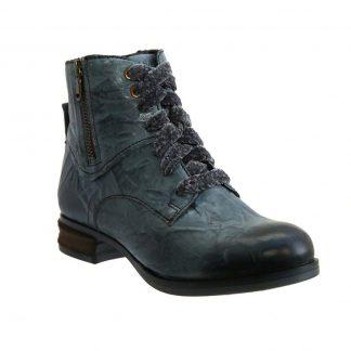Berwick upon Tweed-Lime Shoe Co-Josef Seibel-Sanja 11-Azur-Blue-Side zip-comfort-warm-winter-autumn