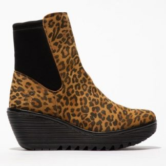 Lime Shoe Co-Berwick upon Tweed-Fly London-Ladies-Leather-Wedge-Ankle Boot-Autumn-Winter-2021-Yocy
