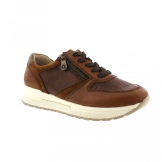 Berwick upon Tweed-Lime Shoe Co-Rieker-Brown-Leather-Trainer-laces-zip-winter